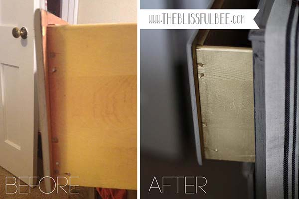 painted furniture makeover gold metallic. After Much Thought, I Ended Up Choosing A Subtle Gold Metallic Color. First Tried Using Craft Paint But Quickly Realized That Wasn\u0027t Going To Work. Painted Furniture Makeover H