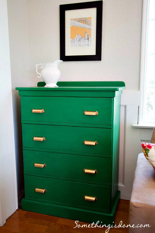 green-painted-dresser