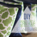 DIY Corn Hole Bean Bags