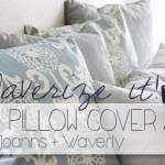 Waverize It! The Easy DIY Pillow Cover