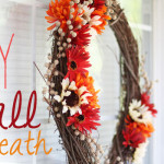 Re-Usable DIY Fall Wreath