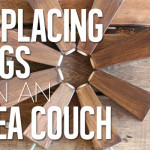 Ikea Hack – Replacing Legs on an Ikea Couch