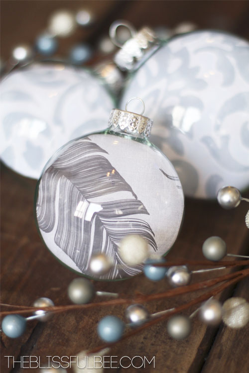 25 Diy Christmas Ornament Ideas Love Of Family Amp Home