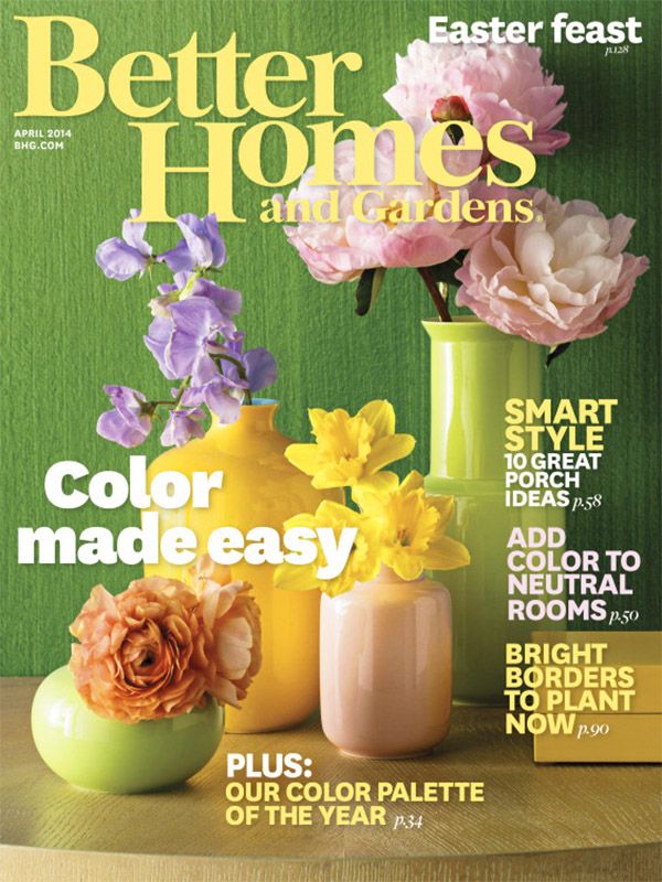 Homes And Gardens Subscription Part - 37: BHG_AprilColorIssue2014