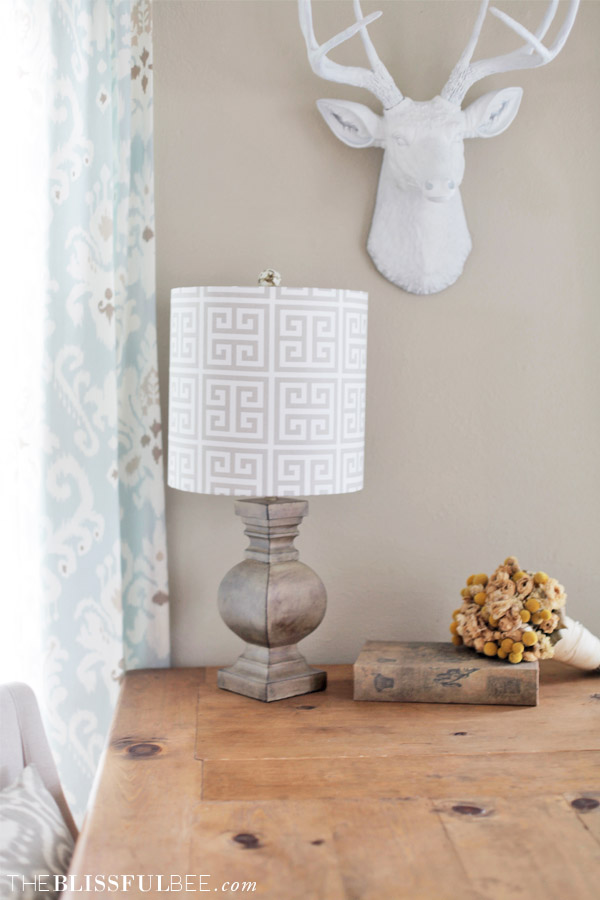 DIY Lamp Shade Kit THE BLISSFUL BEE